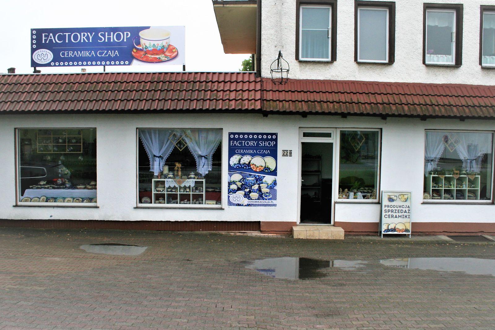 Sklep firmowy w Bolesławcu